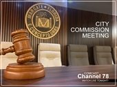 City Commission Meeting is tonight
