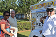 Adults at Ice Cream Truck
