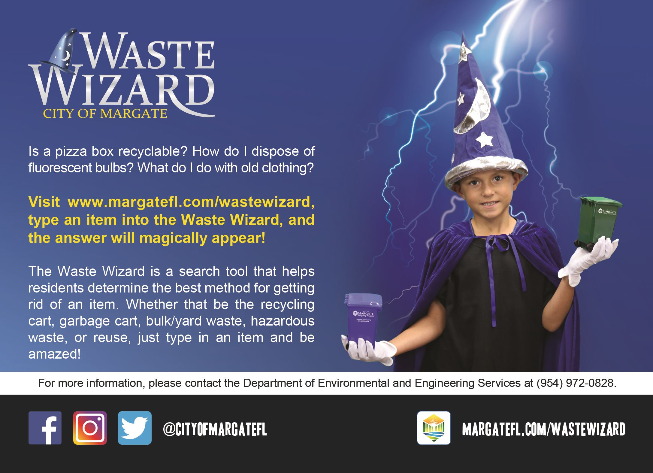Waste Wizard Search Tool Introduction