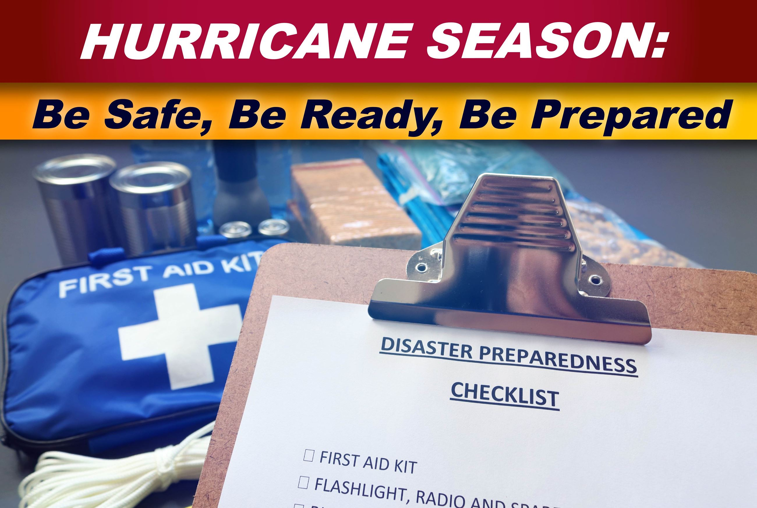 Be Safe Be Ready Be Prepared