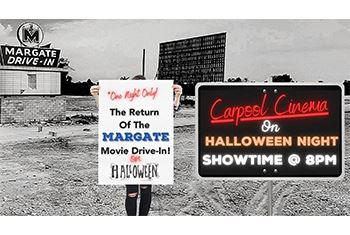 Halloween Carpool Cinema on October 31st